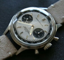 MERKUR-PierrePaulin Panda Chronograph Pilot Watch Seagull ST19 1963 SwanNeck
