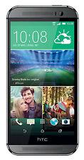 "5"" HTC One M8 Unlocked 4g Quad-core Dual 4mp GPS Smartphone 32gb Gunmetal Gray"