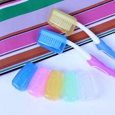 5er Zahnbürsten Schale Box Schmutzschutz Dose Hygiene Reise Deckel Etui Pflege