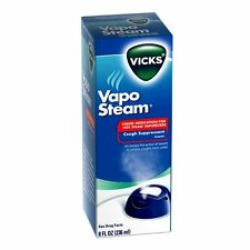Vicks Vapo Steam Camphor for Use In Hot Steam Vaporizers 8oz Each