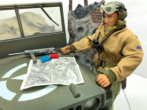 """Ultimate Soldier WWII U.S. Tank Commander 12"""" US Army 4th Armored Division 1:6"""