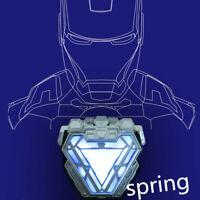 Hot Top Licensed Iron Man Arc Reactor LED Light MK50 Mark L Resin Prop Cosplay