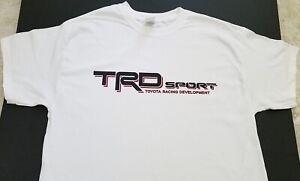 NEW TRD SPORT T-SHIRT truck toyota tundra jdm tacoma nos turbo j-spec racing suv