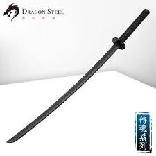 Dragon Steel Samurai Katana J-104 Black Plastic training weapon