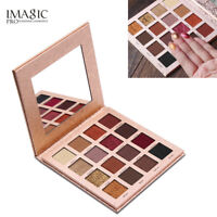 IMAGIC 16 Colors Matte Shimmer Cosmetic Eye Shadow Makeup Eyeshadow Palette Gift