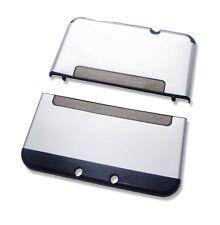 Nintendo * nuevo * 3DS XL 3DSXL Plata Aluminio Metal Funda carcasa vivienda
