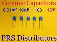 Ceramic Capacitor 3000v 0 1nf 100pf 101 3kv Replace 2kv 1kv 5 Pieces Ebay