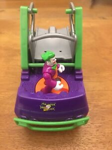 Imaginext DC Comics Batman - The Joker figure & 6 Wheeled Vehicle Toy