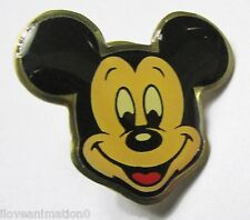 Disney Gold Outlined Mickey Head Pin