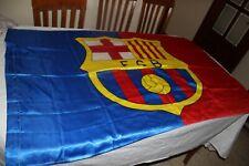 BANDERA FUTBOL DEL F.C BARCELONA MODELO DEL CENTENARIO COTIZADO Y ANTIGUO  FLAG