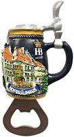 Hofbrauhaus Munchen Magnetic Beer Bottle Opener Munich Germany Oktoberfest