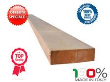 Tavola in legno di abete grezzo essicato per ponteggio mm 50x250x2000