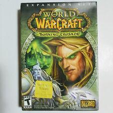 World of Warcraft: The Burning Crusade BIG BOX mit Key (PC 4 CD-ROM, 2007) VG