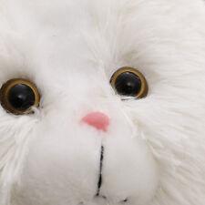 White Cat Plush Toy Big Tail Fat Cat Doll Persian Cat Garfield Pillow Dolls 30cm