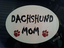 Dachshund Mom Car Sticker, Decal
