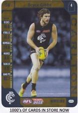 2015 AFL Teamcoach GOLD Card - Bryce Gibbs - Carlton