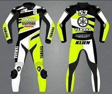 Motorbike Motorcycle 1.3MM Leather Street Racing 1 and 2 Piece Suit Custom Made