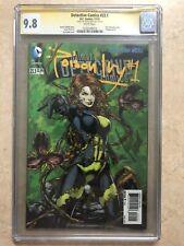 DC Comics Detective Comics #23.1 Poison Ivy CGC SS 9.8 Sign Jason Fabok 3-D