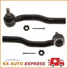 2X Front Outer Steering Tie Rod End for Nissan Sentra NV200 13-18 & Leaf 14-18