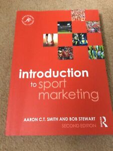 Intoduction To Sports Marketing Aaron C.T. Smith & Bob Stewart 2015