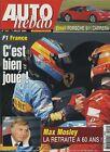 AUTO HEBDO n°1451 du 7 Juillet 2004 GP FRANCE PORSCHE 911 CARRERA S MAX MOSLEY