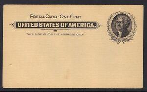 U.S. 1897 SCOTT UX14 MINT