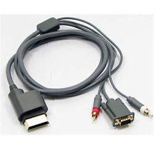 Componente Hd Av Vga Monitor Lead Cable Para Xbox 360