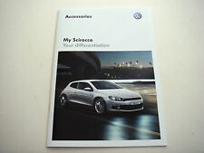 Volkswagen . Scirocco . My Scirocco  Accessories . 2012 Sales Brochure