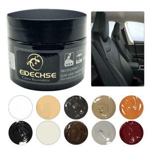 50ML Leather Repair Filler Cream Kit Restore Car Seat Sofa Scratch Scuffs Holes
