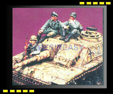 Resin soldier 1/35 warriors 35360 WWll German Tank Riders for STUG No.1 OOP