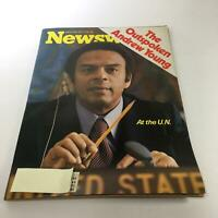 Newsweek Magazine: Mar 28 1977 - The Outspoken Andrew Young at the U.N.