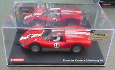 Carrera EXCLUSIV 1/24 Scale Slot Car 20432 Porsche Carrera 6 Sebring 1966 #49