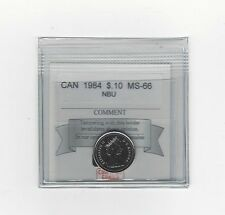 **1984**, Coin Mart Graded Canadian,  10  Cent, **MS-66 NBU**