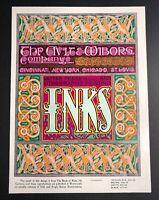 Ault Wiborg Litho Printing INK Poster Sign Original Art Nouveau Funky Animal?