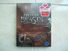Fantastic Beasts And Where To Find Them (Blu-ray) Newt's Case Pop-up Limited Ed.