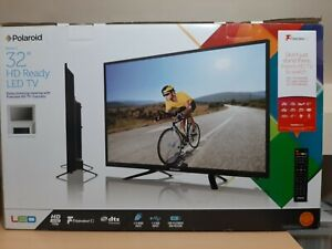 """32"""" Polaroid Freeview LED 720p HD Ready TV / Television – Boxed + Remote Control"""