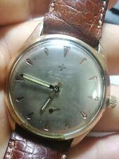 CORTEBERT Grand Prix cal.697 mechanical manual wind Swiss Made watch gold plated
