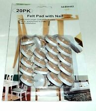 AIMCO 20 Pack Felt Pad With Nail Furniture/Floor Protect  NIP