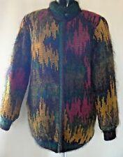 Vintage Jeffery Brownleader Mohair Sweater Coat Size 14 Excellent Condition