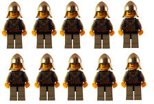 Schatztruhe mit Diamanten in neu Braun Lego Ritter Figur Zubehör
