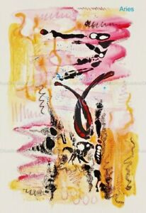 Llop - Aries (giclée Fine Art 45x33 Horóscopos)[edición limitada]