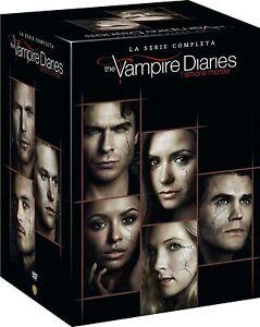 Dvd The Vampire Diaries - Serie Completa (1-8) ( Box 38 Dvd) ......NUOVO