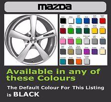 Mazda calcomanías o adhesivos para Llantas de aleación x 6