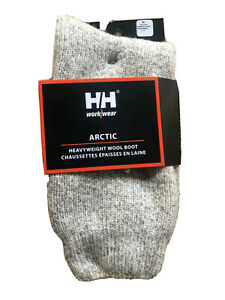HELLY HANSEN Extreme Cold  Heavy 80% Wool Outdoor Boot Socks M,L,XL