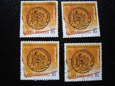 LUXEMBOURG - timbre yvert et tellier n° 1353 x4 obl (A30) stamp