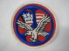 VINTAGE Peace Sign Patch Vintage American Eagle USA Flag Clothing RARE