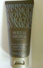 2x Molton Brown White Sandalwood Body Wash 80ml