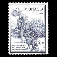 Monaco 1995 - Council for Hunting and Conservation of Game - Sc 1949 MNH