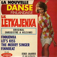 ESKO JAAKKO LET'S KISS FRENCH ORIG EP