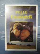 Filmplakatkarte / moviepostercard  Pelle, der Eroberer   Pelle Hvenegaard